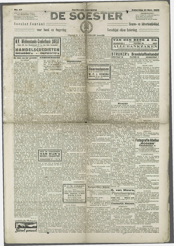 Soester Courant 1925-11-21