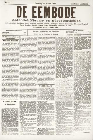 De Eembode 1903-03-21