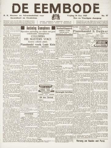 De Eembode 1927-10-14