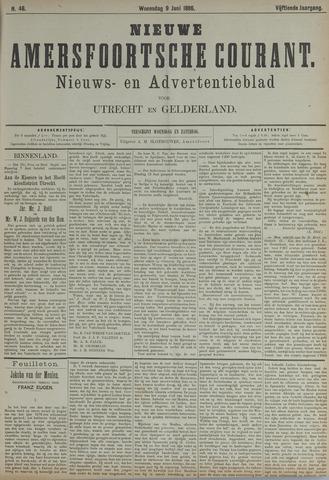 Nieuwe Amersfoortsche Courant 1886-06-09