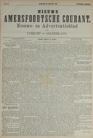 Nieuwe Amersfoortsche Courant 1891-02-28