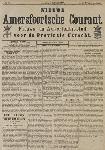Nieuwe Amersfoortsche Courant 1907-02-09