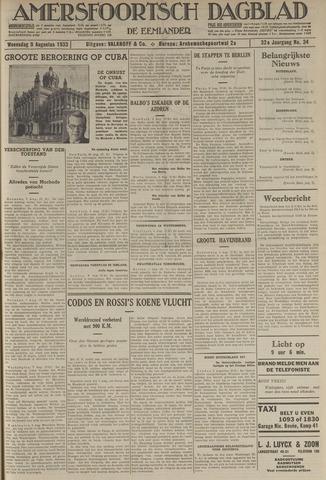 Amersfoortsch Dagblad / De Eemlander 1933-08-09