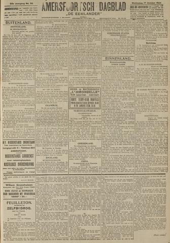 Amersfoortsch Dagblad / De Eemlander 1923-10-17