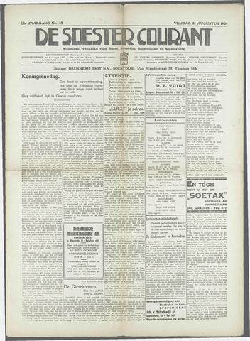 Soester Courant 1934-08-31