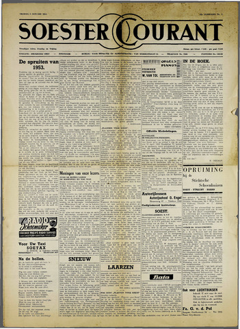 Soester Courant 1954-01-08