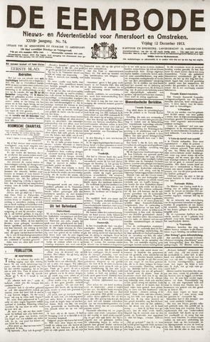 De Eembode 1913-12-12