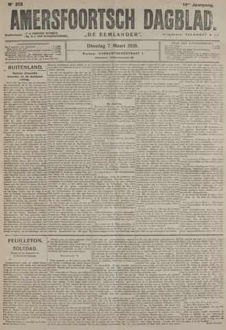 Amersfoortsch Dagblad / De Eemlander 1916-03-07