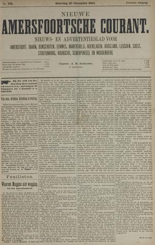 Nieuwe Amersfoortsche Courant 1884-12-20