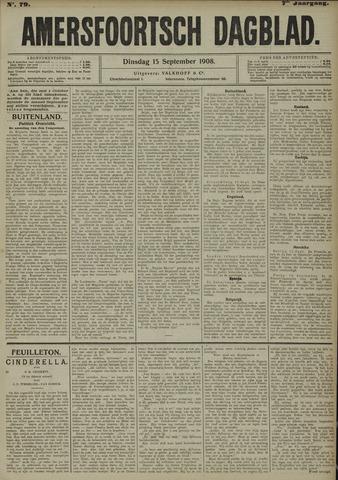 Amersfoortsch Dagblad 1908-09-15