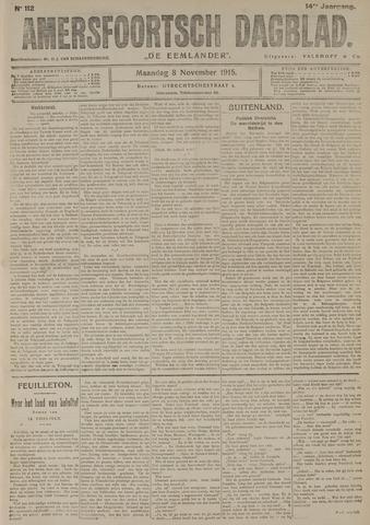 Amersfoortsch Dagblad / De Eemlander 1915-11-08