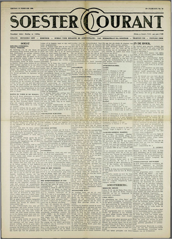 Soester Courant 1960-02-26