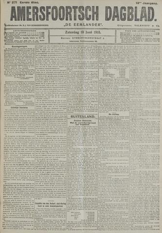 Amersfoortsch Dagblad / De Eemlander 1915-06-19