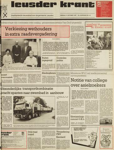 Leusder Krant 1987-10-13