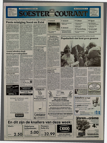 Soester Courant 1999-11-24