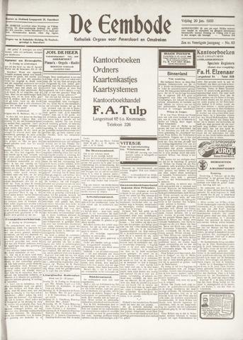 De Eembode 1933-01-20