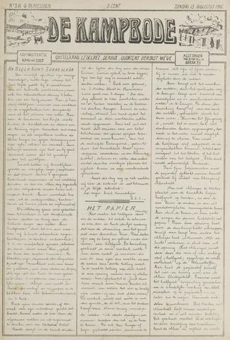 De Kampbode 1916-08-13