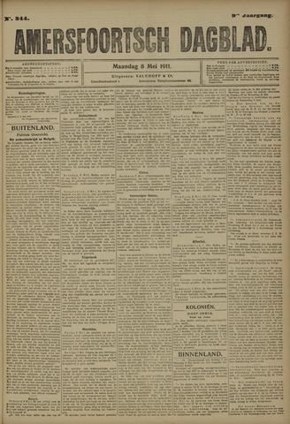 Amersfoortsch Dagblad 1911-05-08