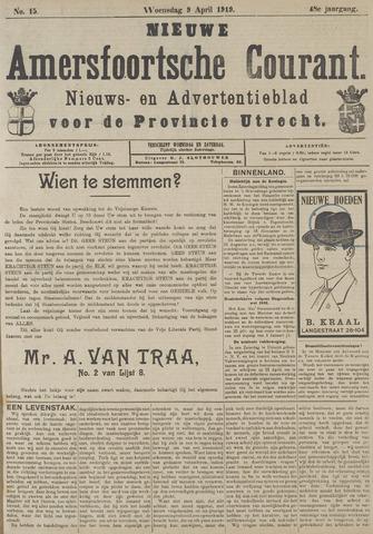 Nieuwe Amersfoortsche Courant 1919-04-09
