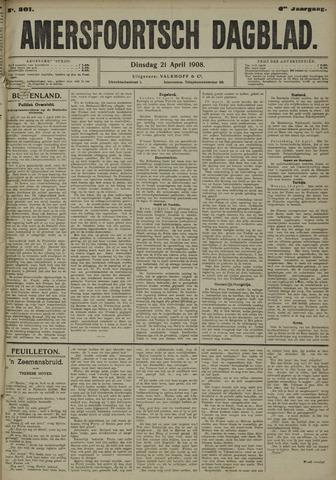 Amersfoortsch Dagblad 1908-04-21