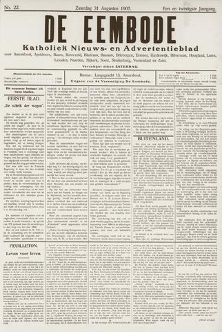 De Eembode 1907-08-31