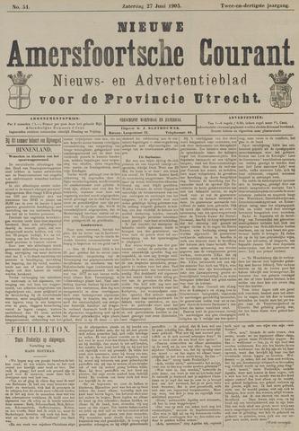 Nieuwe Amersfoortsche Courant 1903-06-27