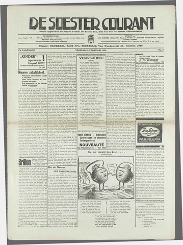 Soester Courant 1938-02-18