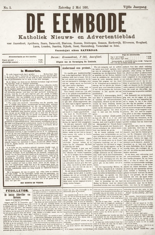 De Eembode 1891-05-02