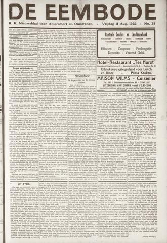 De Eembode 1922-08-11