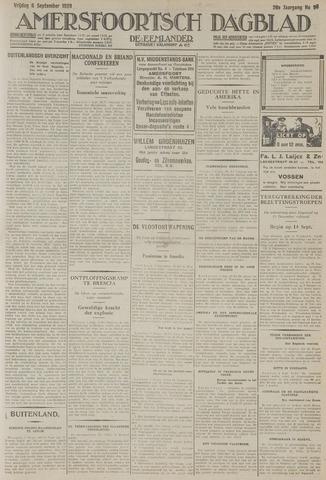 Amersfoortsch Dagblad / De Eemlander 1929-09-06