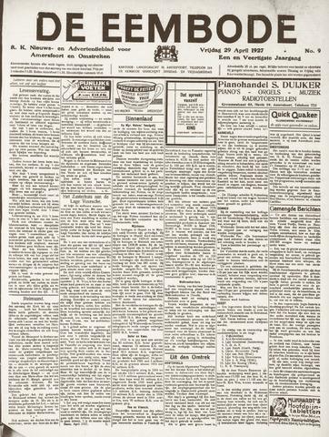 De Eembode 1927-04-29