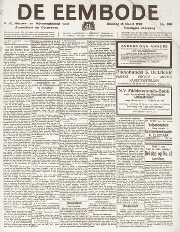 De Eembode 1927-03-15