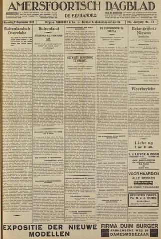 Amersfoortsch Dagblad / De Eemlander 1932-09-21