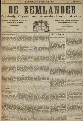 De Eemlander 1908-01-02