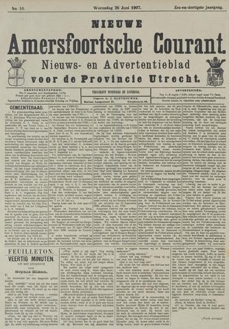 Nieuwe Amersfoortsche Courant 1907-06-26