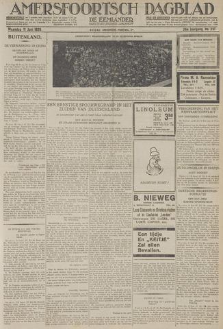 Amersfoortsch Dagblad / De Eemlander 1928-06-11
