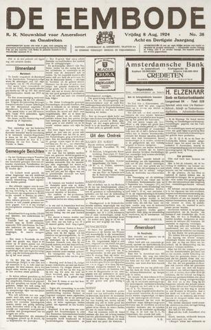 De Eembode 1924-08-08