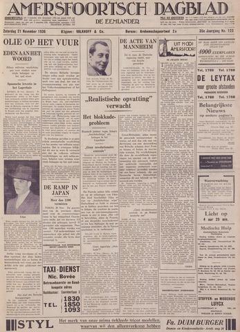 Amersfoortsch Dagblad / De Eemlander 1936-11-21
