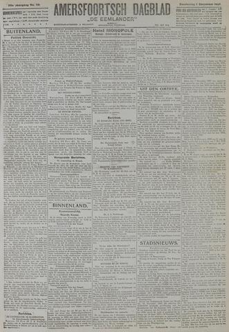 Amersfoortsch Dagblad / De Eemlander 1921-12-01