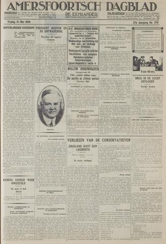 Amersfoortsch Dagblad / De Eemlander 1929-05-31