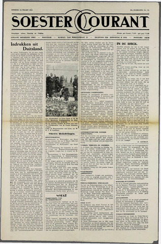 Soester Courant 1952-03-25