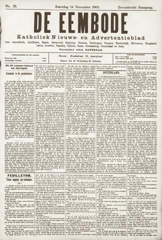 De Eembode 1903-11-14