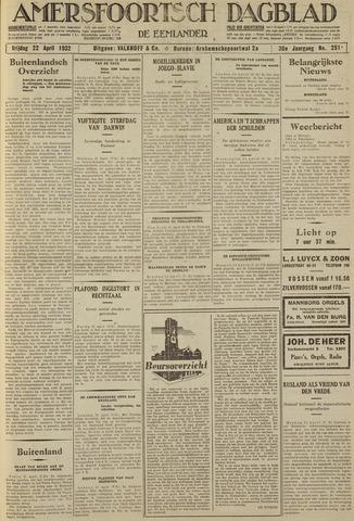 Amersfoortsch Dagblad / De Eemlander 1932-04-22