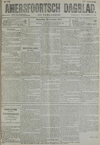 Amersfoortsch Dagblad / De Eemlander 1917-01-29