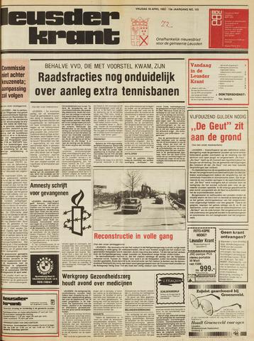 Leusder Krant 1982-04-16