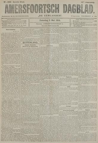 Amersfoortsch Dagblad / De Eemlander 1914-05-09