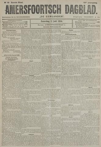 Amersfoortsch Dagblad / De Eemlander 1914-07-11
