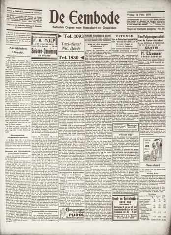 De Eembode 1936-02-14