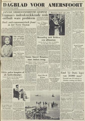 Dagblad voor Amersfoort 1951-09-05