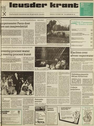 Leusder Krant 1987-10-27